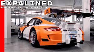 porsche hybrid 911 porsche 911 gt3 hybrid drive system explained youtube