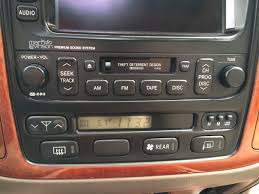 lexus salvage yard san diego 2001 lexus lx470 head unit radio climate combo cannot locate