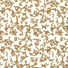 traditional italian florentine print paper brown on white