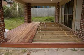Wooden Decks And Patios Deck Over Concrete Patio View Topic Can U Deck Over Existing