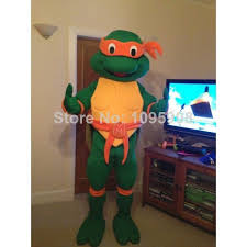 Ninja Turtle Halloween Costumes Tmnt Teenage Mutant Ninja Turtle Mascot Character Halloween