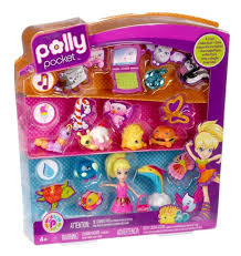 amazon polly pocket cutants friends collection toys u0026 games