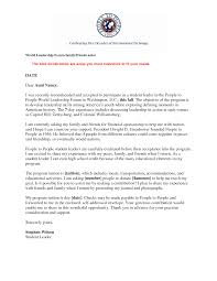 leadership recommendation letter examples choice image letter