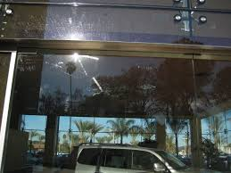 lexus dealership escondido restaurant fabricating debris repair scratched tempered glass resurfacing
