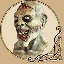 Zombie Mask Zombie Mask Crazy Sewed Zombie Thevikingstore Co Uk