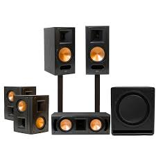 klipsch reference home theater system standard home cinema system indoor 5 1 rb 81 ii klipsch