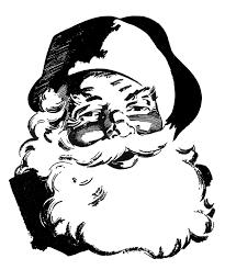 free vintage santa claus clipart clipartxtras