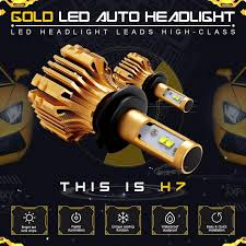 le h7 led pair 480w h7 cree led headlight bulbs kit driving low beam fog
