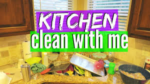 kitchen cleaning motivation clean with me youtube