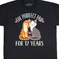 17th anniversary gifts anniversary t shirts personalized wedding anniversary gifts