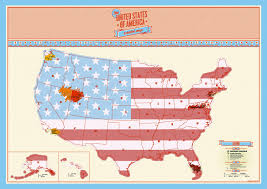 Usa Map With Capitals And States by Usa Scratch Map Track Your Travels With The Large Scratch Off Map