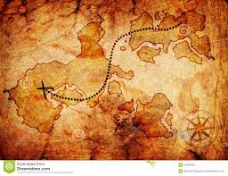 treasure map treasure map stock photo image 21650970