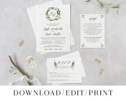 bilingual wedding invitations bilingual wedding invitation etsy