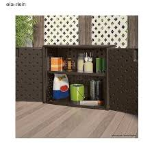 Outdoor Storage Cabinets With Shelves Outdoor Storage Cabinet Container Chest Garage Shed Bin Garden