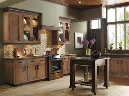 welcome to your dream kitchen with rich tones and craftsman