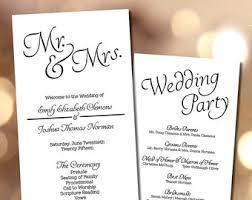 simple wedding program sweet n simple wedding program