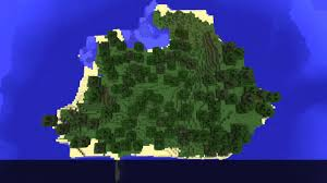 Minecraft Map Seeds Minecraft 1 7 Forest Island Seed Youtube