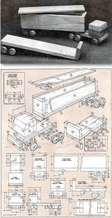 Free Wooden Toy Plans Pdf by Best 20 Wooden Truck Ideas On Pinterest Wooden Toy Trucks