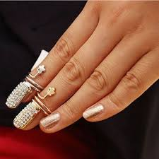 gold knuckle rings images Nail knuckle ring gold knuckle ring silver knuckle ring on luulla jpg