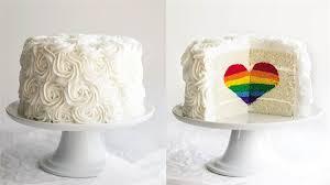 how to make cake rainbow heart cake today