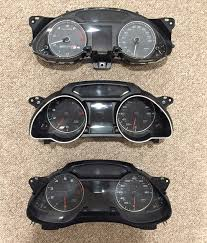 audi dashboard a5 diy a5 instrument cluster face and gauge retrofit for a4