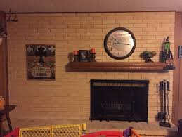 How To Clean Fireplace Bricks With Vinegar by Need Help With How To Clean Old Fireplace Brick That Has Yellowed
