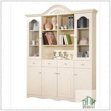 white bookcase korea style white bookshelf design wooden ha c four doors corner