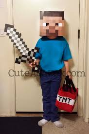 minecraft costume butterfly and minecraft steve costume