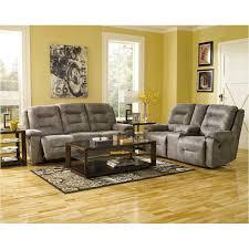 Reclining Living Room Set 9750188 Furniture Rotation Smoke Reclining Sofa Smoke