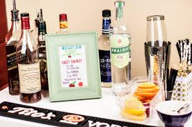 diy bar cart super bowl party in the know mom