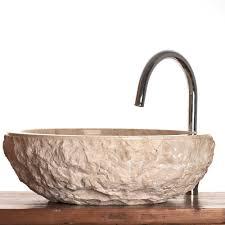 verona cream marble stone vessel sink 40 cm wa066