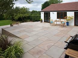 Garden Paving Ideas Uk Marshall S Fairstone King Size By Paving Marshalls