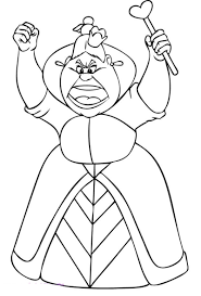 queen of hearts coloring page contegri com