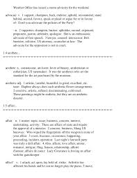 thesaurus beautiful the oxford thesaurus an a z dictionary of synonyms