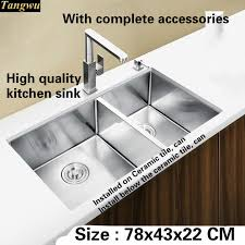 high end kitchen sinks tangwu high end luxurious kitchen sink food grade 1 2 mm thick 304