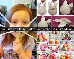 homemade easter decorations for the home 24 cute and easy easter crafts kids can make amazing diy