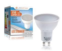 Esszimmer Lampe Schwenkbar Ledando Led Gu10 Strahler 5watt Smd Leuchtmittel 35w Ersatz