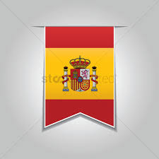 Banners Flags Pennants Spain Flag Pennant Vector Image 1565019 Stockunlimited