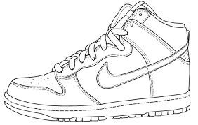 nike running shoes coloring pages color your air yeezy 2 5 color