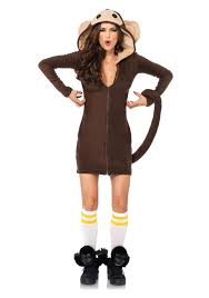halloween animal costumes for adults cozy monkey costume cute animal halloween costumes