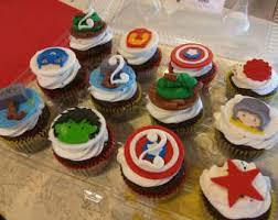 avengers cupcakes etsy