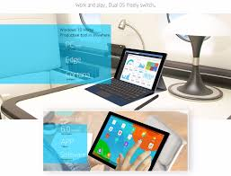 teclast tbook 16 power tablet pc windows 10 android 6 0 11 6