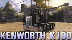 kenworth k100 glorious kenworth k100 euro truck simulator 2 youtube