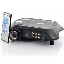 wholesale led multimedia projector with dvd player from china