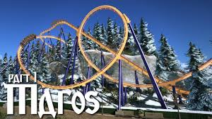 planet coaster maros part 1 winter themed floorless coaster