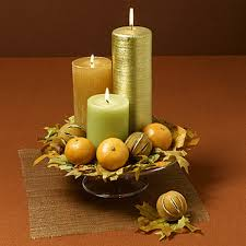 thanksgiving candle display ideas family net