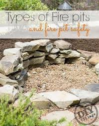 How To Use A Firepit Creek Pit Diy Few As We The In The Big