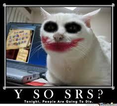 Afraid Meme - joker s cat be afraid batman be very afraid by skillrexamonster