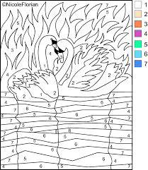 number coloring pages adults