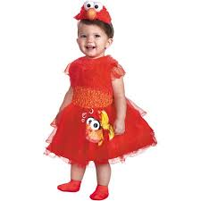 Childrens Halloween Costumes Frilly Elmo Toddler Halloween Costume Walmart